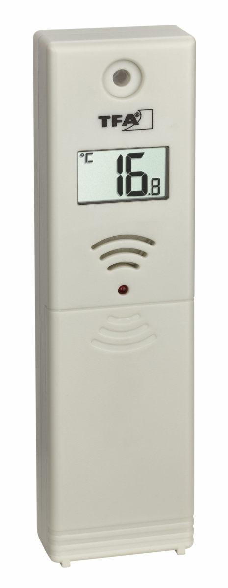 Rainman sensor buitentemperatuur van TFA.