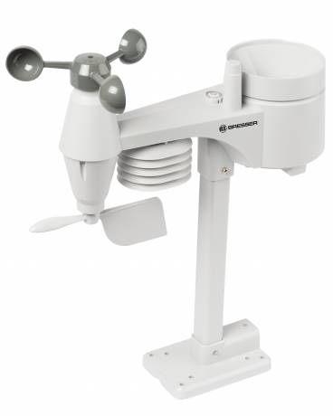 Bresser Comfort 5-in-1 Weerstation sensor wit.